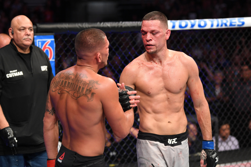 Nate Diaz Defeats Anthony Pettis Via Decision in Return from 3-Year UFC Hiatus