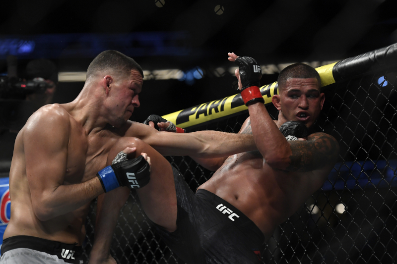 Video: Nate Diaz Calls out Jorge Masvidal After UFC 241 Win over Anthony Pettis