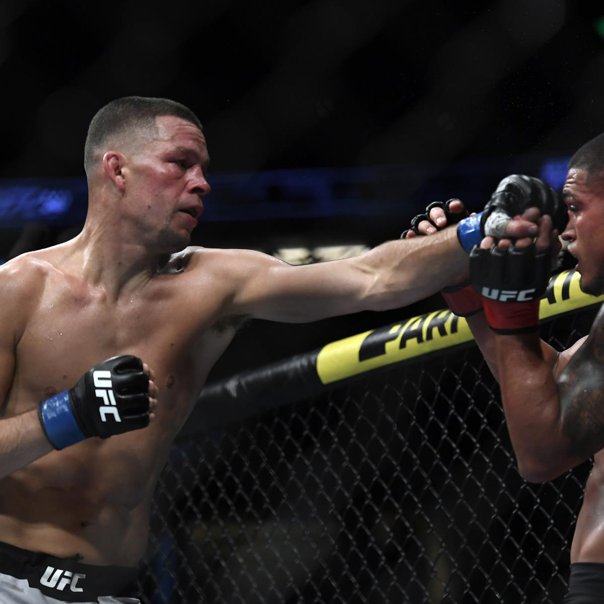 Nate Diaz Displays What the UFC Has Been Missing in Win over Anthony Pettis | Bleacher Report | Latest News, Videos and Highlights
