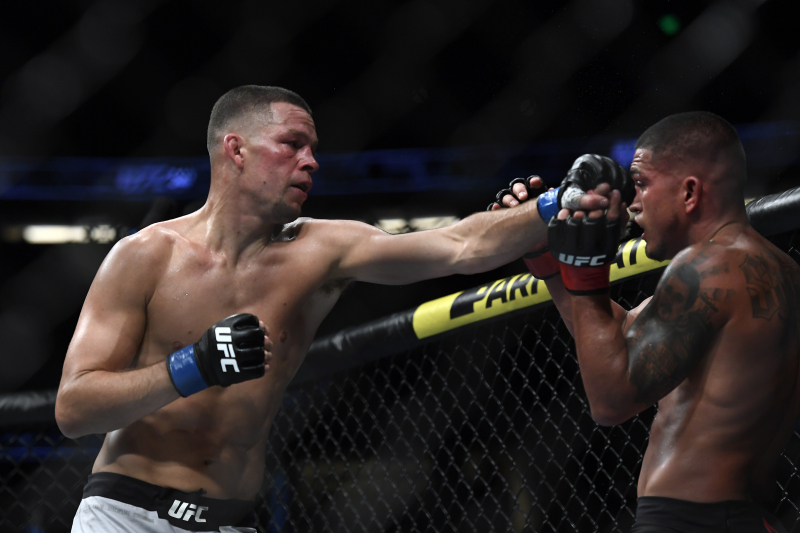 Nate Diaz Displays What the UFC Has Been Missing in Win over Anthony Pettis