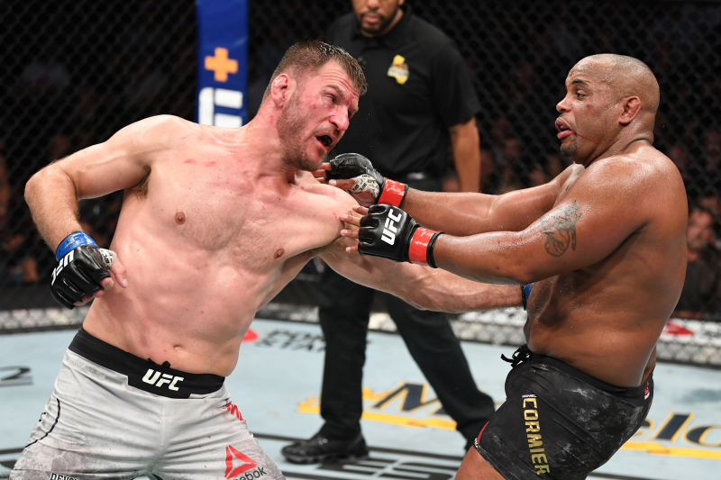 Stipe Miocic Stuns Daniel Cormier, Wins UFC Heavyweight Title Via Knockout