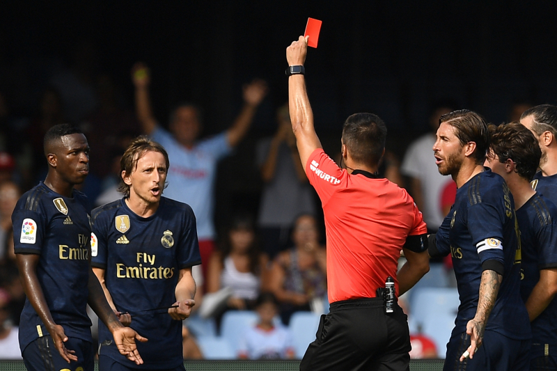 Real Madrid's Luka Modric: Red Card Foul on Denis Suarez Was 'Accidental Action'