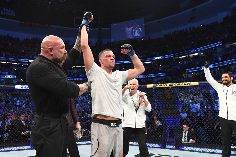 UFC's Dana White Talks Conor McGregor, Jorge Masvidal as Nate Diaz's Next Fight