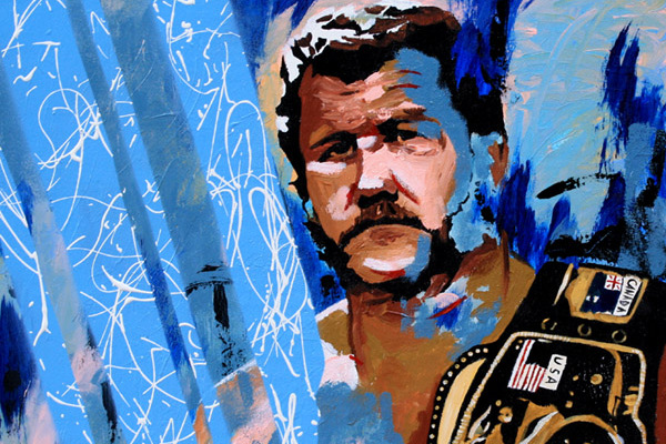 Rob Schamberger Q&A: WWE's Artist Talks Painting Stars, Wrestling and More