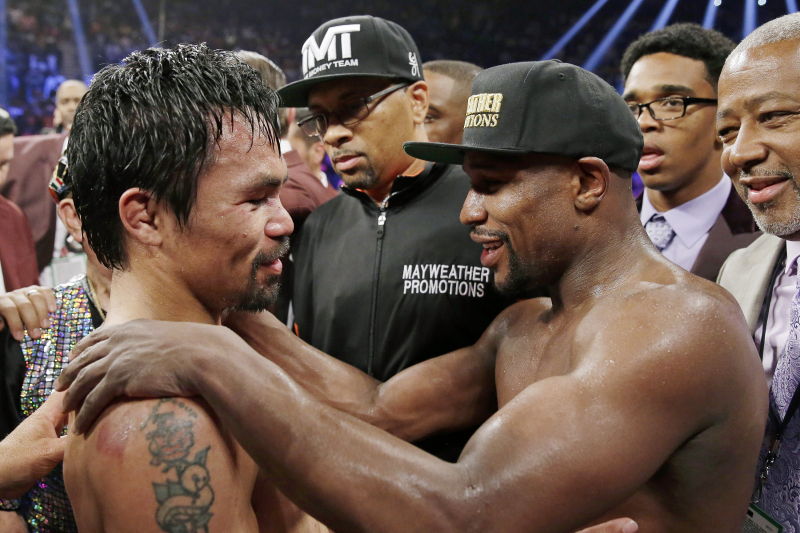 Video: Floyd Mayweather Reveals Potential Manny Pacquiao Rematch in Saudi Arabia