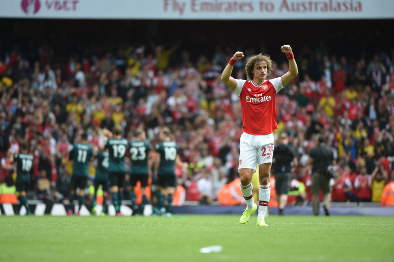 David Luiz Says He Moved to Arsenal over China Because of 'Ambition'