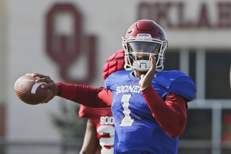 Ex-Alabama QB Jalen Hurts Named Oklahoma's Starter vs. Houston