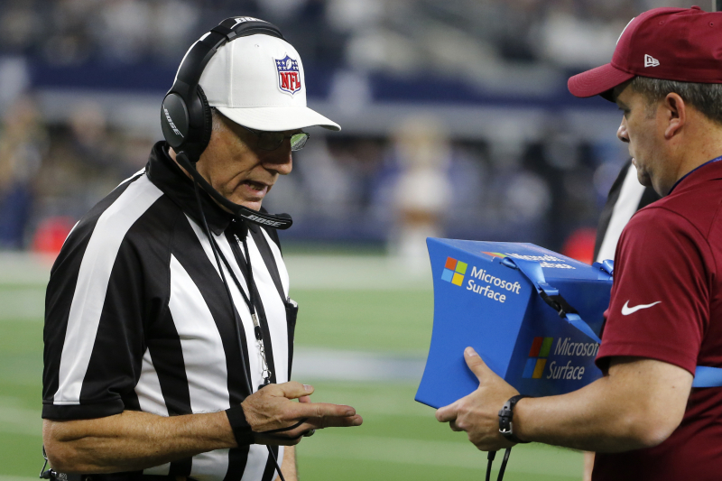 NFL Rumors: Coaches Only Wanted Pass Interference Review on 'Egregious' Mistakes