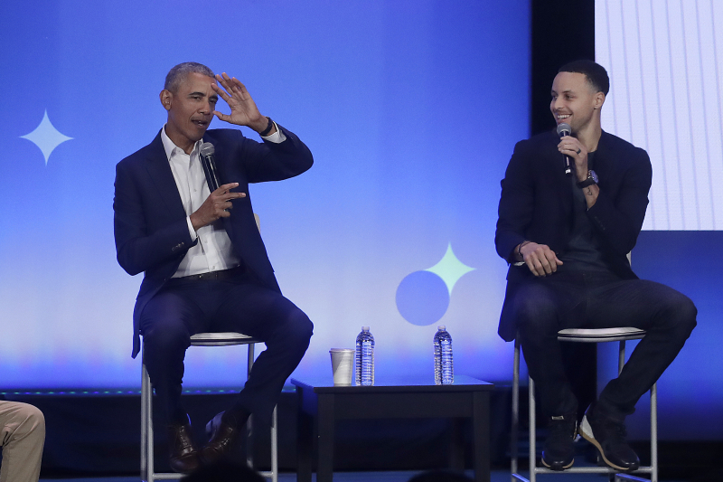 Video: Stephen Curry Invites Barack Obama to Attend Golf Meet at Howard