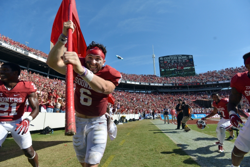 Baker Mayfield: Apology for Ohio State Flag Plant 'Absolutely' Wasn't Heartfelt