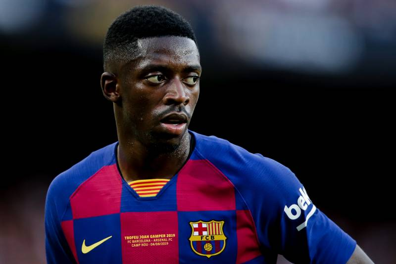 separation shoes 35447 8b9e3 Ousmane Dembele Will Stay at Barcelona '1000%,' Says Agent ...