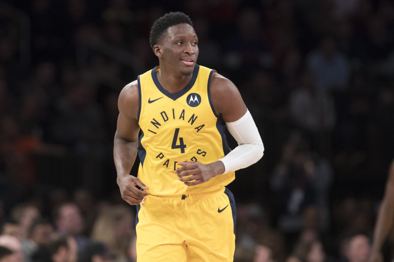 Victor Oladipo Says Pacers Will 'Definitely' Reach NBA Playoffs Next Season