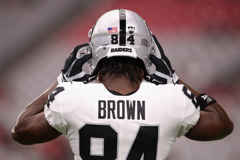 Report: Raiders' Antonio Brown's 2nd Helmet Grievance Hearing Likely on Friday