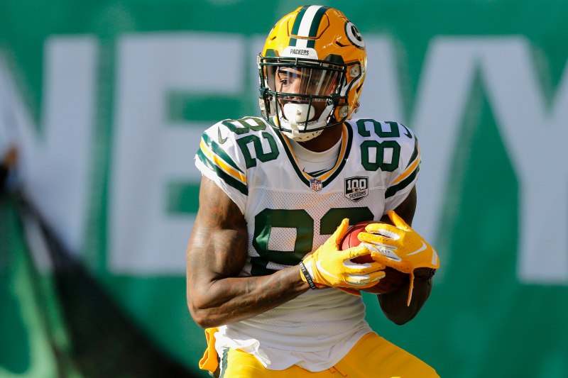 Packers WR J'Mon Moore Cited for Driving Too Fast After Accident with Truck