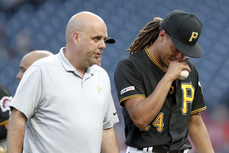 Pirates' Chris Archer Exits vs. Nationals After 1 Inning with Shoulder Injury