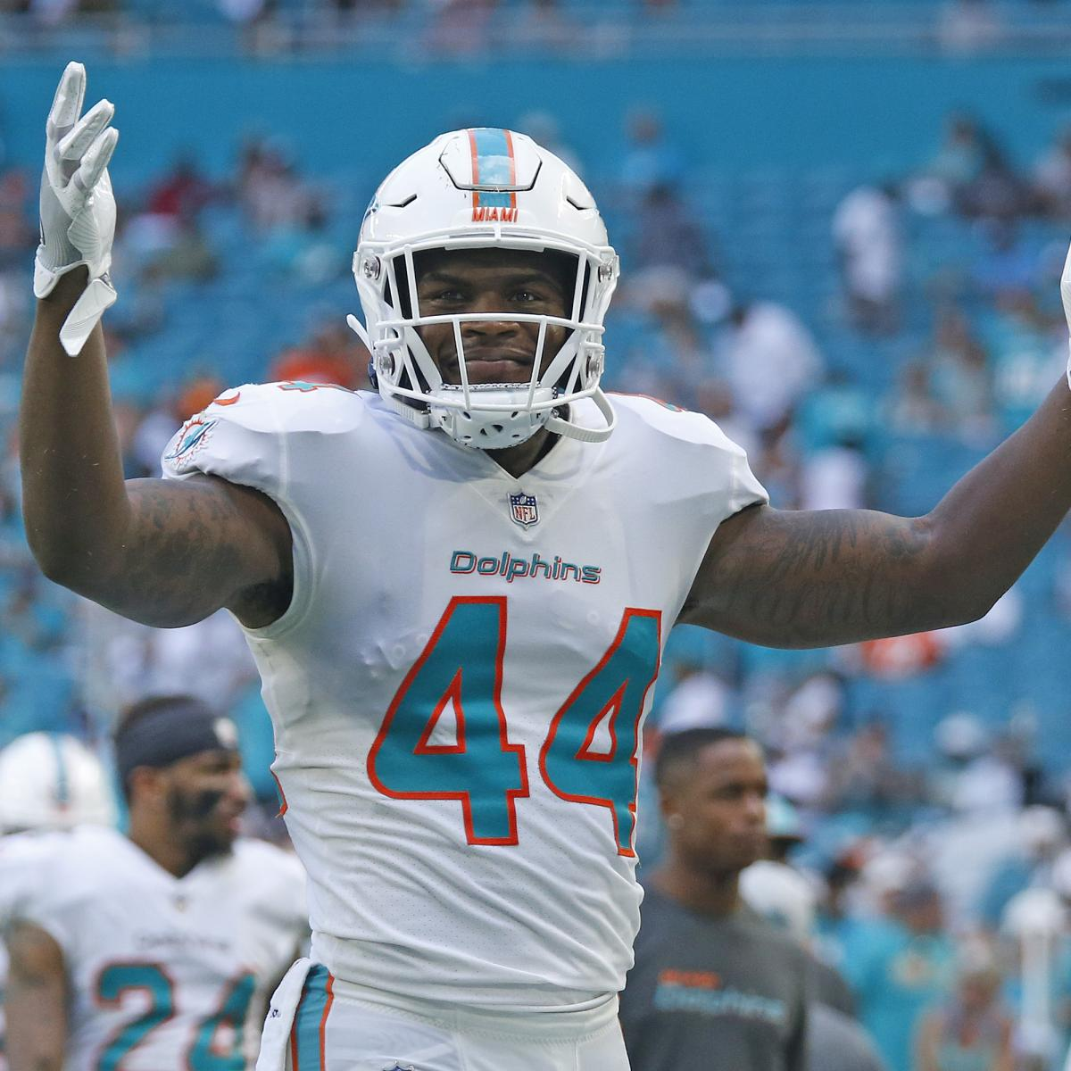 Jets Rumors: LB Stephone Anthony Agrees to Contract After 2 Years with Dolphins