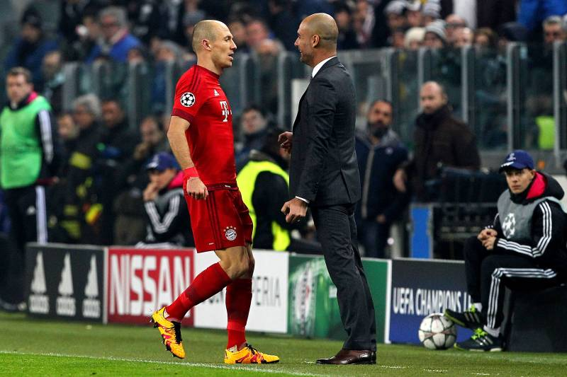 Arjen Robben Says Pep Guardiola Was the Best Coach He Played