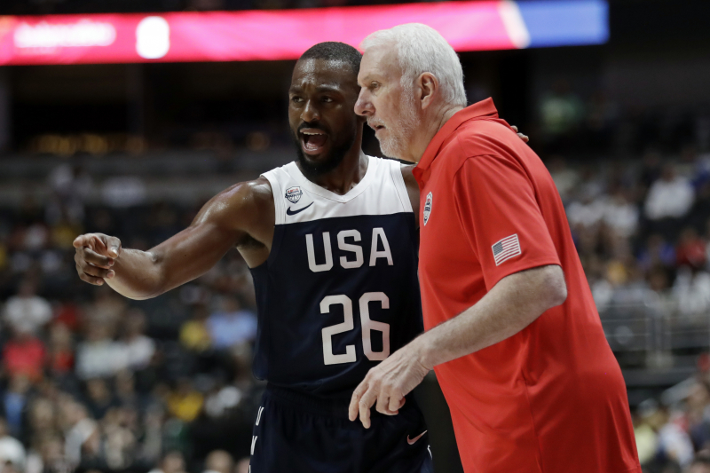 Gregg Popovich: Australia 'Huge, Huge Threat' to Team USA at 2019 FIBA World Cup