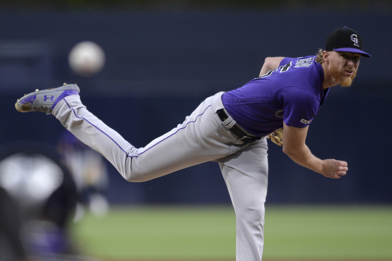 Jon Gray Placed on Rockies' 60-Day IL After Foot Injury Diagnosed as Fracture