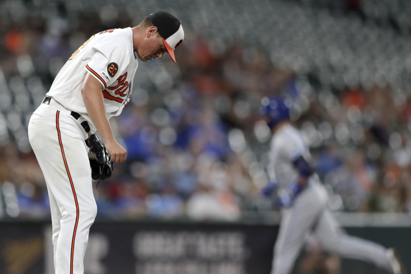 Video: Orioles Tie MLB Record, Allow 258th HR of Season vs. Royals