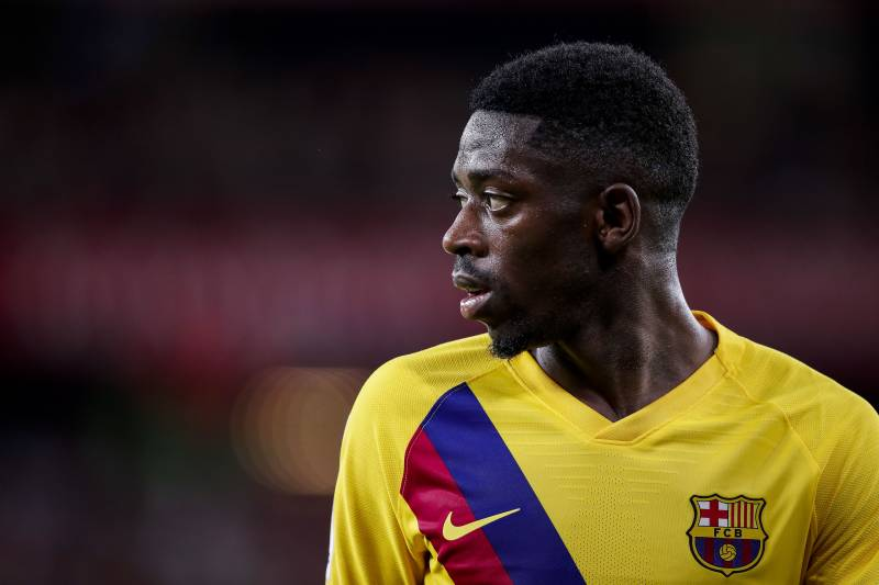 cheap for discount 3df64 af80c Ousmane Dembele's Agent Says Player 'Does Not Care' About ...