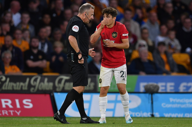 Ryan Giggs Defends Manchester United's Daniel James After Yellow Card for Diving