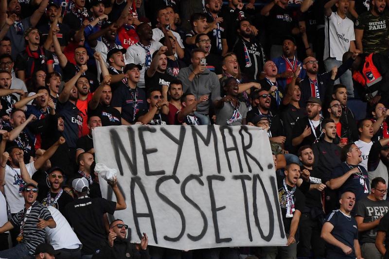 PSG Fined for Fans' 'Offensive' Neymar Banner vs. Nimes