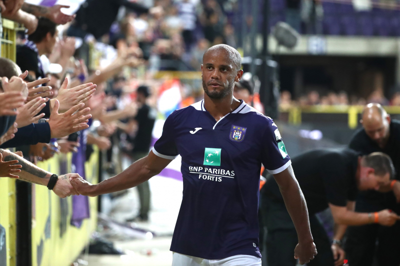 Vincent Kompany Relieved of Matchday Coaching Role After Poor Anderlecht Start