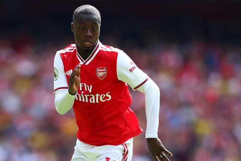 online retailer 532a7 9d2ff Unai Emery Hints Nicolas Pepe Could Make Full Arsenal Debut ...