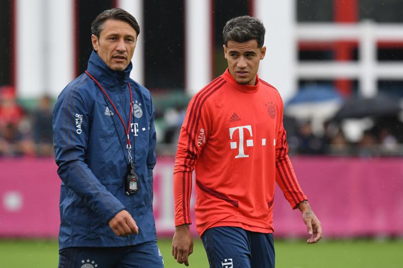 Niko Kovac Hints Unfit Philippe Coutinho Faces a Wait Before Bayern Munich Debut