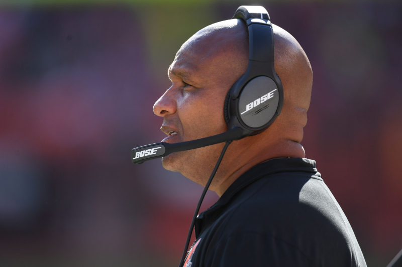 Hue Jackson Says He 'Failed Tremendously' in Tenure as Browns Head Coach