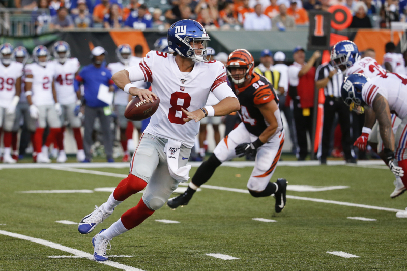 Giants' Daniel Jones Continues Strong Preseason with 141 Yards in Win vs Bengals