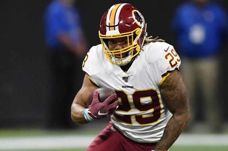 b22ec137 Dwayne Haskins, Derrius Guice Help Redskins Top Falcons in Preseason ...
