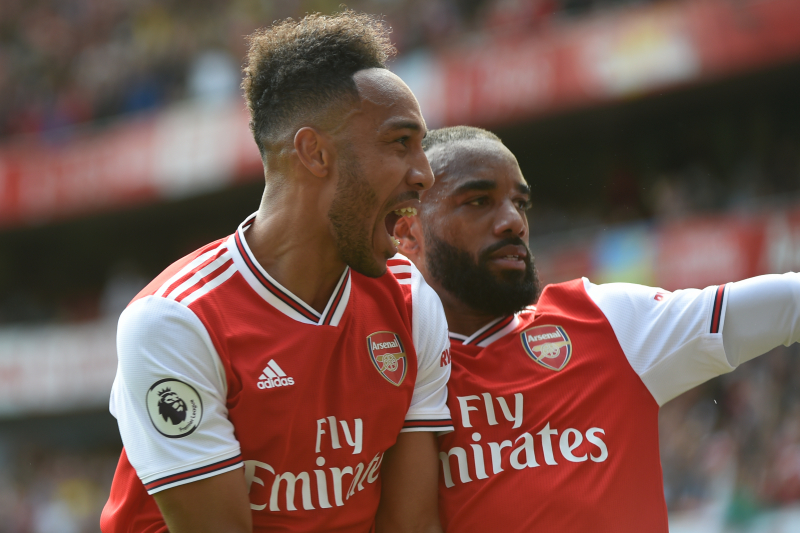Pierre-Emerick Aubameyang: New Arsenal Attack Can Match Liverpool's Front 3