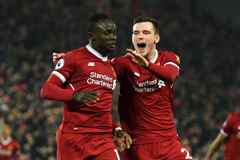 Sadio Mane Told Liverpool's Andy Robertson Ismaila Sarr Will 'Kill' Him for Pace