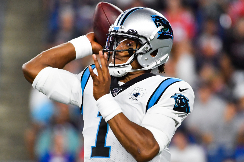 Cam Newton's Injury Is Mid-Foot Sprain; CAR 'Cautiously Optimistic' About Week 1
