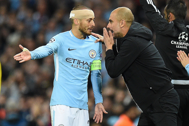Pep Guardiola Admits He Was 'Wrong' About Manchester City Captain David Silva