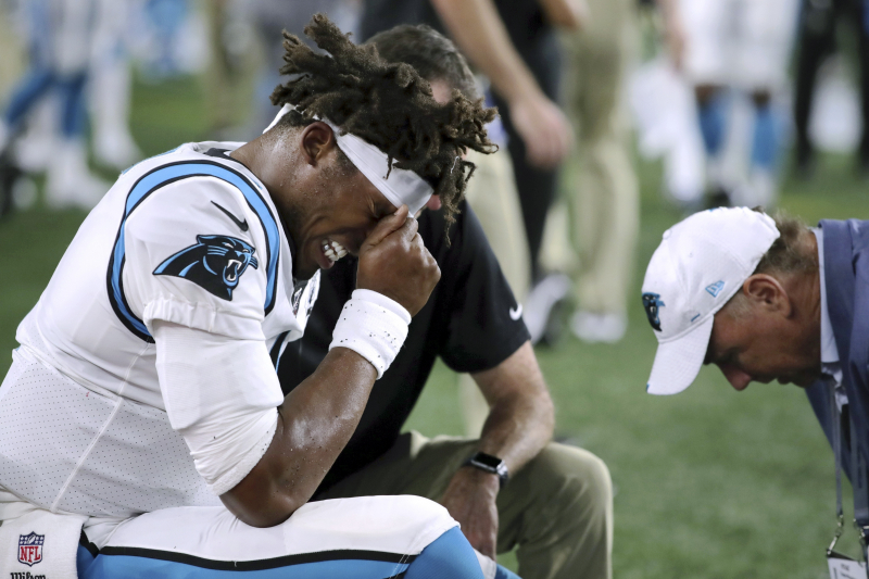 Cam Newton Injury Scare Reinforces His MVP-Level Importance to the NFL