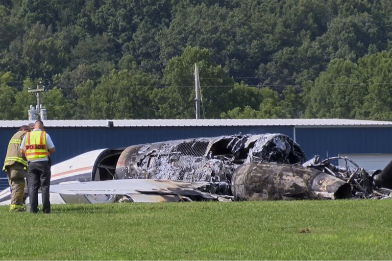 Dale Earnhardt Jr. Plane Crash Caused by Landing Gear Collapse, NTSB Says