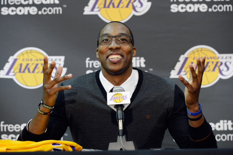 Lakers' Low-Risk Dwight Howard Signing Still Comes with Plenty of History