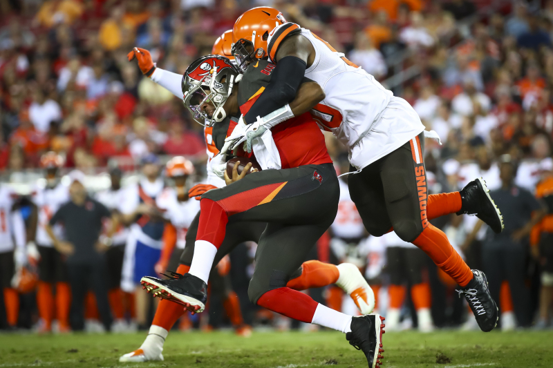 Jameis Winston, Buccaneers Beat Baker Mayfield, Browns on Last-Second FG