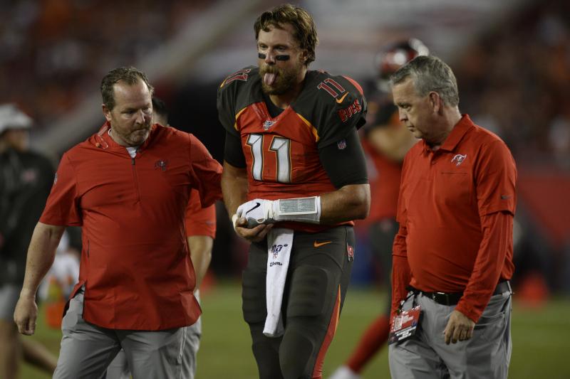 Buccaneers QB Blaine Gabbert's Shoulder Injury Diagnosed as Dislocation