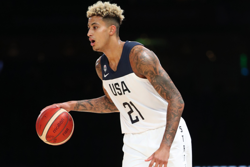 Lakers' Kyle Kuzma Won't Play in Team USA vs. Australia Because of Ankle Injury