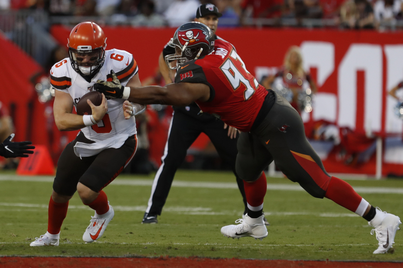 Browns HC Freddie Kitchens Says Offense 'Not Even Close' in Loss vs. Buccaneers