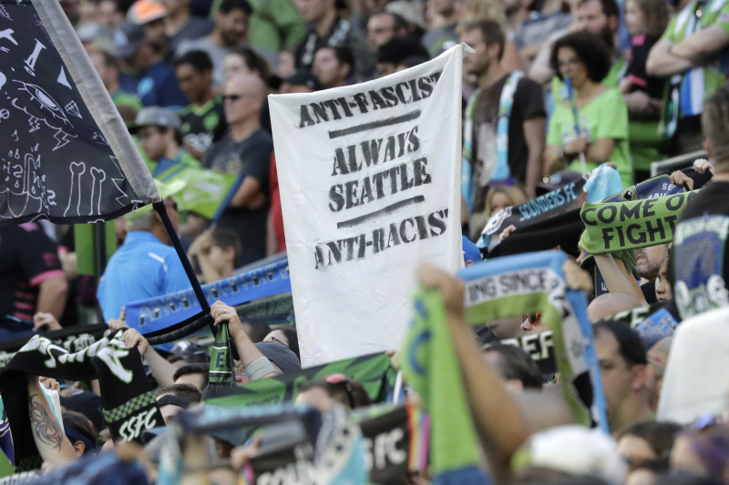 Sounders, Timbers Fans Engage in Silent Protest over MLS' Political Sign Ban