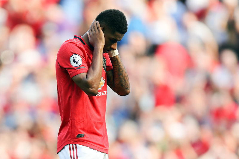 Marcus Rashford Targeted by Racial Abuse After Missing Penalty vs Crystal Palace
