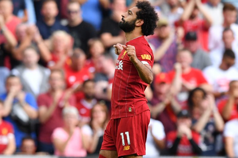 Mohamed Salah Electric as Liverpool Cruise Past Arsenal