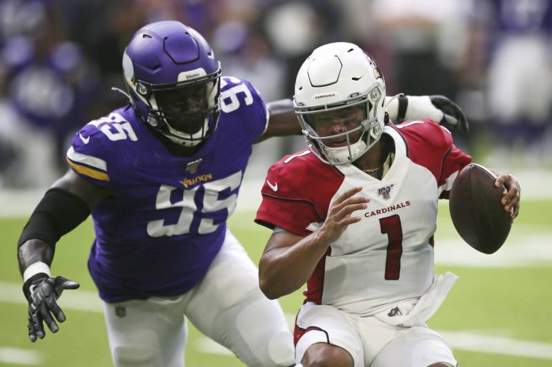 Kyler Murray Flashes Improved Play as Cardinals Lose to Kirk Cousins, Vikings