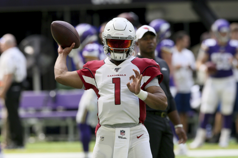 Cardinals' Kyler Murray, KeeSean Johnson, Andy Isabella Updated Fantasy Outlook
