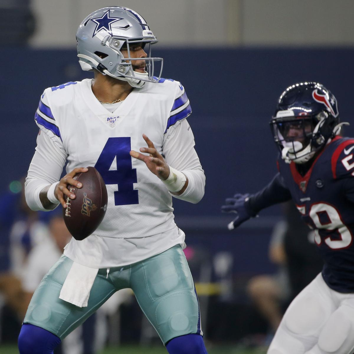 Dak Prescott, Cowboys Beat Texans In Preseason; Lamar